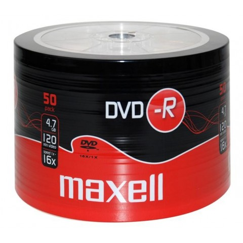 DVD-R Maxell 16X shrink 50