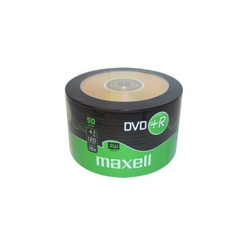 DVD+R Maxell 16X shrink 50