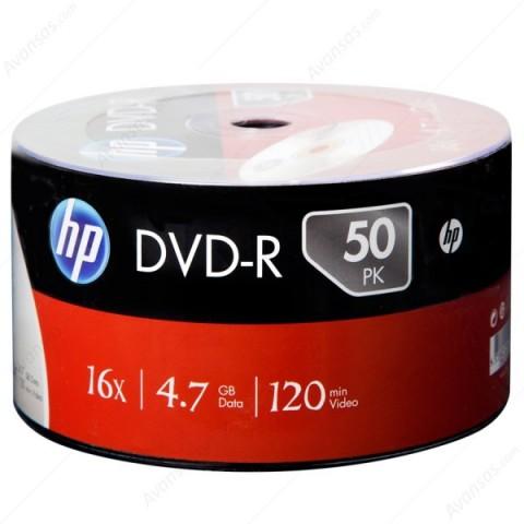 DVD-R HP 16X shrink 50