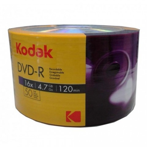 DVD-R Kodak 16X shrink 50