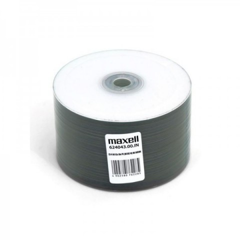 CDR Maxell 52X printabil shrink 50