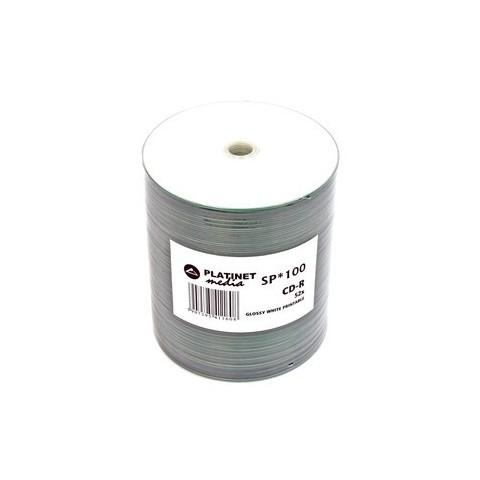 CDR Platinet 52X printabil lucios shrink 100