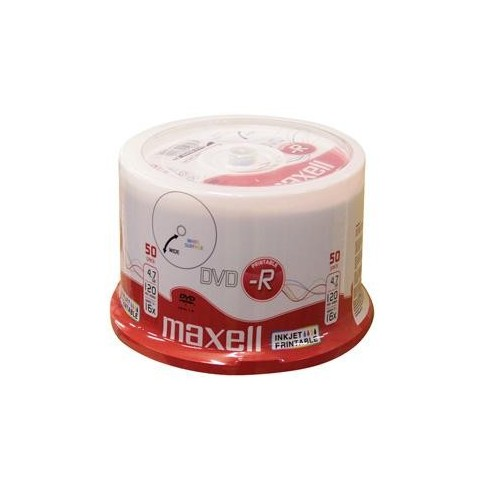 DVD-R Maxell 16X printabil cake 50