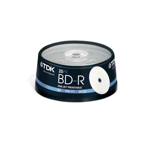 BLUE RAY TDK Printabil 4X cake 25