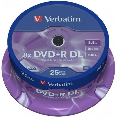 DVD+RDL Verbatim cake 25