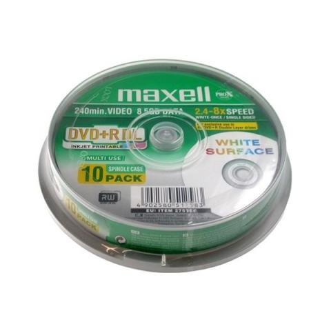 DVD+RDL Maxell cake 10 printabil