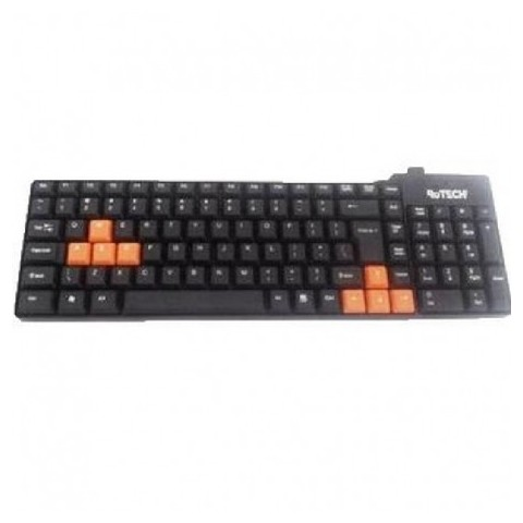 Tastatura Rotech, PS2, 50222, slim