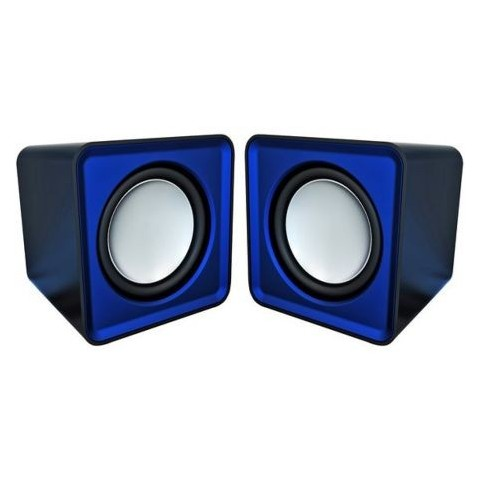 Boxe 2.0 Omega Surveyor, 6W, USB, albastre