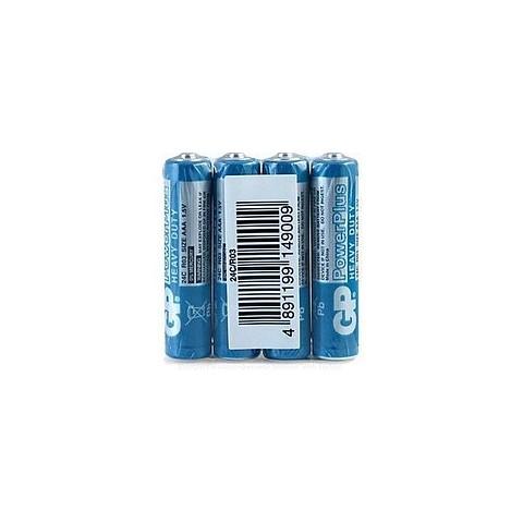 Baterie zinc R3 (AAA) infoliat Greencell GP