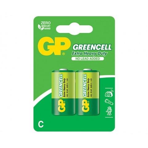Baterie zinc R14 (C) 2 buc/blister Greencell GP